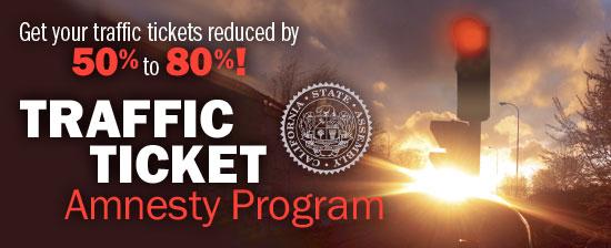 Traffic Ticket Amnesty Program