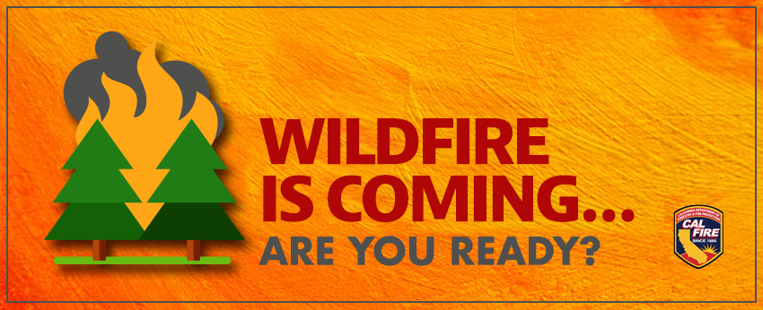 Wildfire Preparedness Graphic