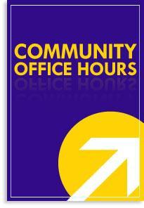 Community Office Hours Graphic