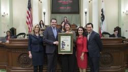 Assemblymember Wood Honors Woman of the Year Natalie Arroyo